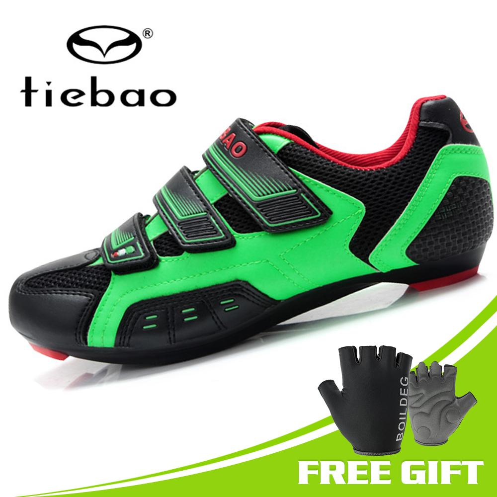 Hot Selling 2018 TIEBAO Road Bike Cycling Shoes New Bicycle Shoes For Road Racing Professional Athletic Shoes Mens Cycling Shoes