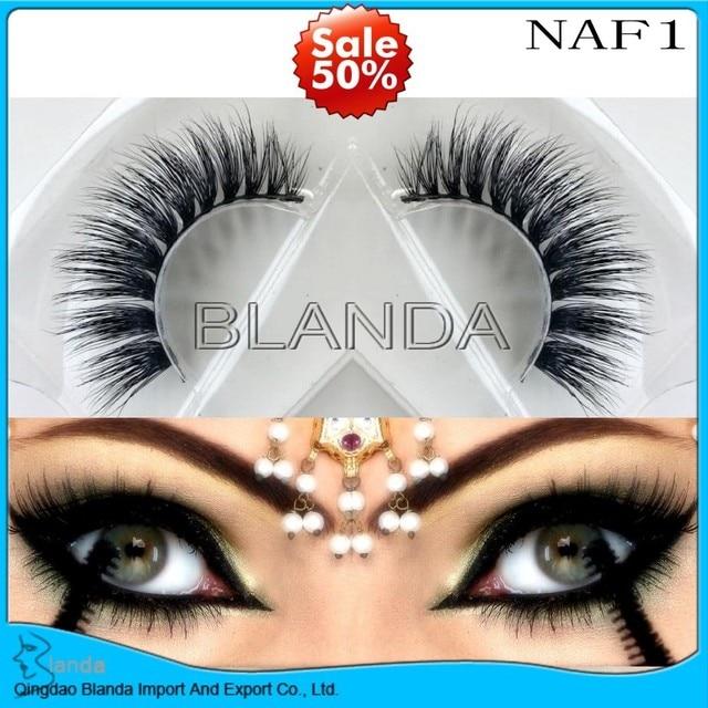 0e5569af90e UPS FreeShipping 50pcs cruelty free natural false eyelashes fake lashes  long makeup 3D mink lashes extension eyelash mink lashes