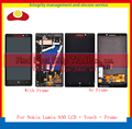 High Quality For Nokia Lumia 930 Full LCD Display Touch Screen Digitizer Sensor Assembly Complete Panel With Frame Free Shipping