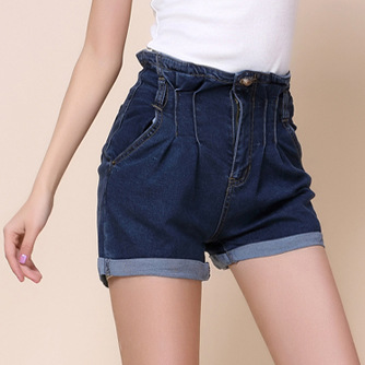 Aliexpress.com : Buy High Quality Women Jeans Short Extra Large ...