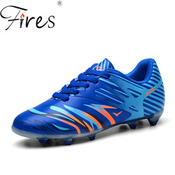 Fires brand soccer shoes men long spikes professional sports shoes mens outdoor summer autumn football shoes.jpg 250x250