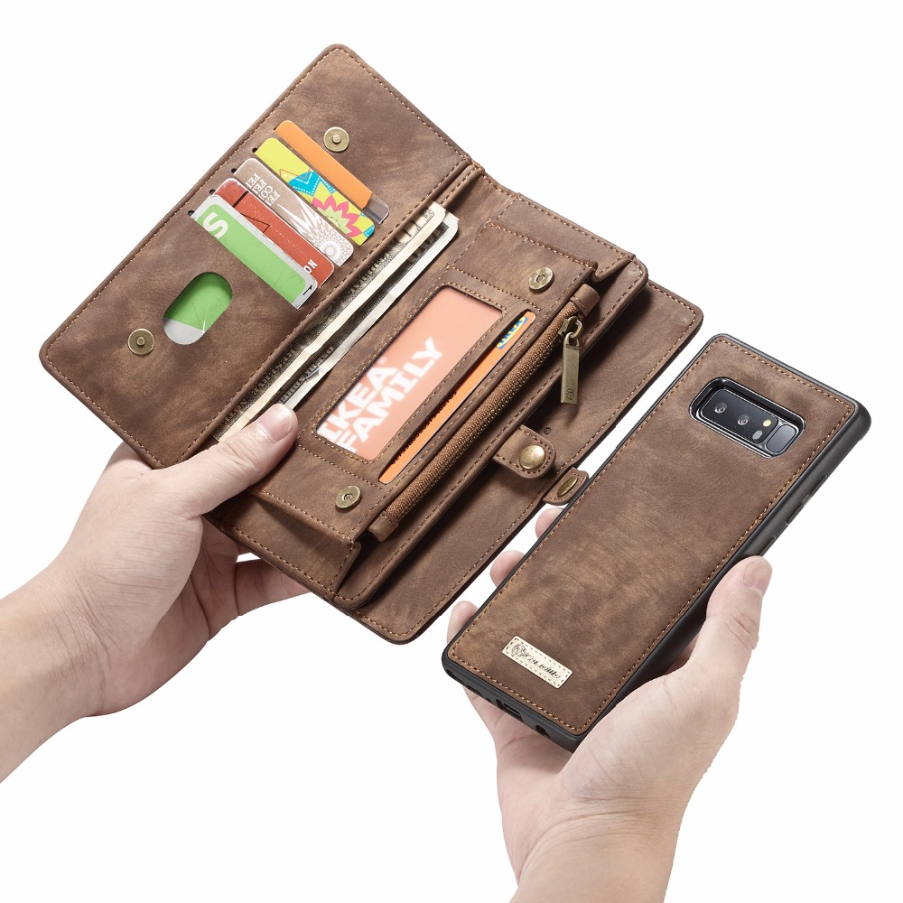 For Samsung Note 9 Cover Genuine Leather Case for Samsung Galaxy S9 S8 note 8 S7Edge
