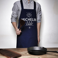 2016 Hot Fashion Women Men Cotton Apron Funny Cute Pattern Canvas Apron Kitchen Cooking Novelty BBQ