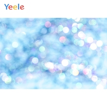 Yeele Polka Dots Light Blue Gradient Solid Color Party Baby Portrait Photo Backgrounds Photographic Backdrops For Studio