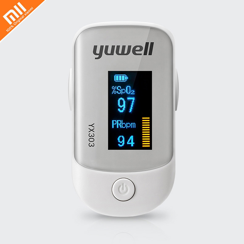 Xiaomi Original Yuwell YX303 Oximeter Digital Fingertip Pulse Care With OLED Screen High-speed Sensor Auto Power Off For Family