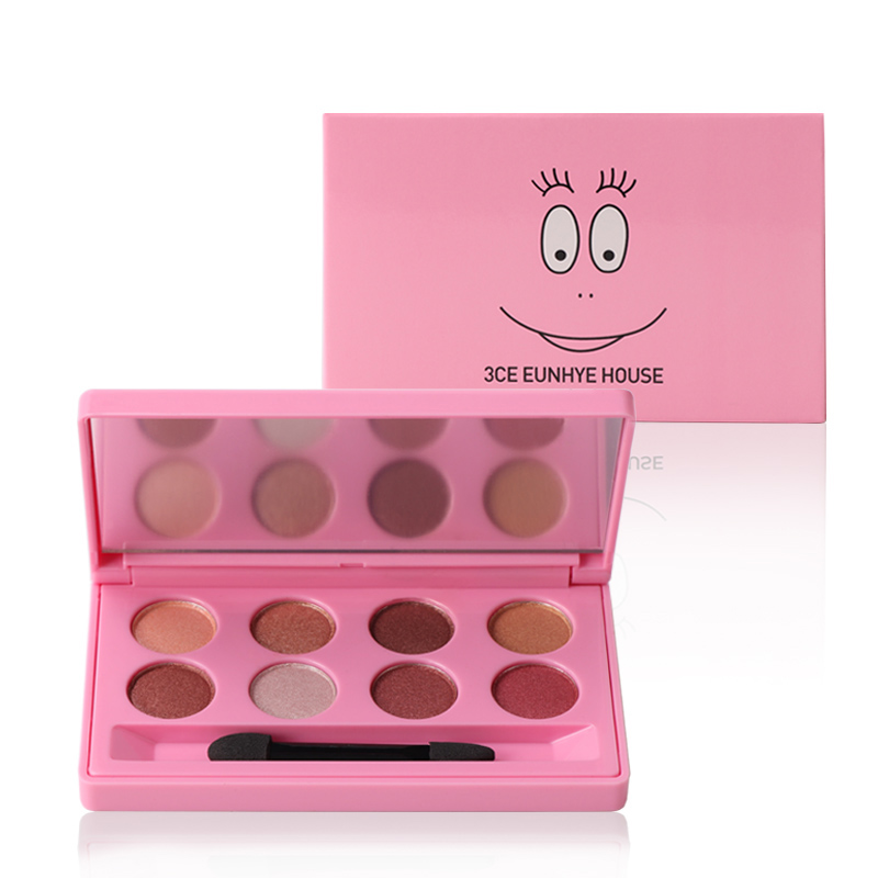 3CE Eunhye Home Brand Makeup set Waterproof Eyeshadow 8 Colors In 1 Makeup Set & Easy To Wear Matte Lipgloss Cosmetics Set 1