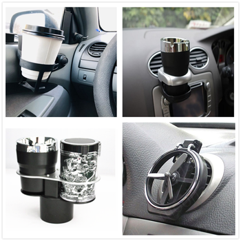 Car drink carrier cup water holder Air Condition Inlet Bottle for BMW 335is Scooter Gran 760Li 320d 135i E60 E36 F30 F30 image