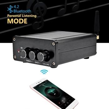 Amplificatore Audio Domestico | Tpa3116 Digitale Amplificatore Audio 2.0 Hifi Bluetooth 5.0 Di Classe D Stereo Di Alta Amplificatore Di Potenza 100Wx2 Home Theater