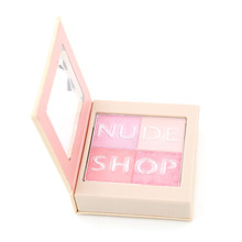 Blush Mineralize Blush Palette 1 pcs 4 Color Blusher Makeup Blush Net 5g