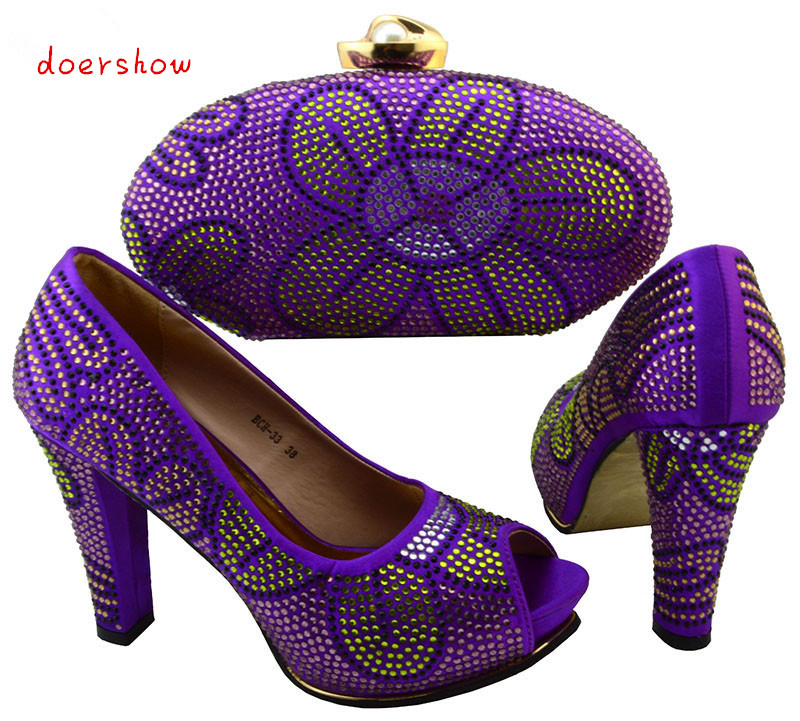 doershow African Shoe And Bag Set For Party In Women Shoes And Matching Bag Set With Stones For Wedding Size 38-43   BCH1-10 ruth williams hooker barbara mullins nelson and pamela s hinds a new model for explaining obesity in african american women