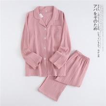 Nowa jesienna miłośniczka krepa bawełniana odzież męska i damska piżama w dużym rozmiarze spodnie z długimi rękawami Plus rozmiar Sexy Pijama