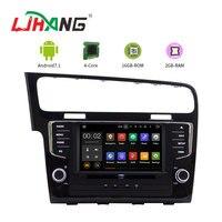 LJAHNG 8 дюймов 1 Din Android 7,1 PX3 автомобильный мультимедийный плеер для VW Golf 7 2013 gps навигация Радио стерео головного устройства autoaudio swc