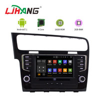 LJAHNG 8 Inch 1 Din Android 7.1 PX3 Car Multimedia player For VW Golf 7 2013 GPS Navigation Radio Stereo Headunit autoaudio swc