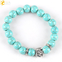 CSJA-Lovely-Lucky-Green-Turquoise-Stone-