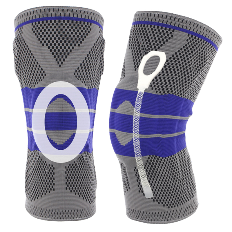 Fashion 1PC New Hot Unisex Universal Basketball Running Gym Sports Knee Compression Joint Pain Relief Sleeve Supports Braces