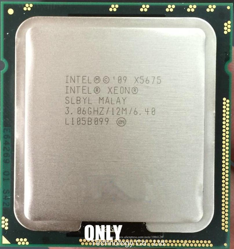 1PCS Intel Xeon W3680 3.33GHz LGA 1366 SLBV2 6-Core 6.4GT//s CPU Processor Tested