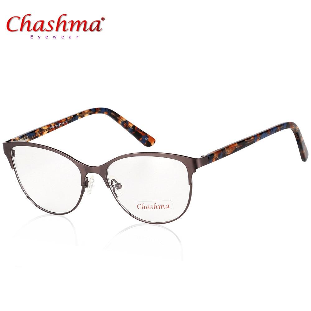 5f8a7935f9 CHASHMA Brand Eyeglasses Frame Women Myopia Eye Glasses Cat s Eye Eyewear  Oculos de Grau Feminino Gafas