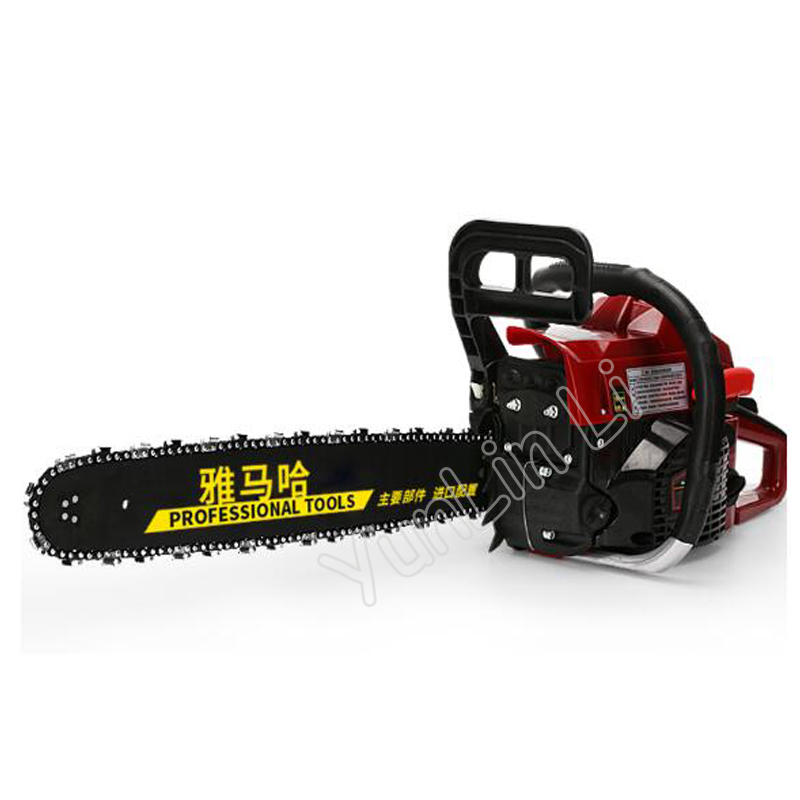 Tools : Portable 65CC Chainsaw Petrol Chainsaw With Blade Professional Chainsaw Garden Saw Petrol Chainsaw
