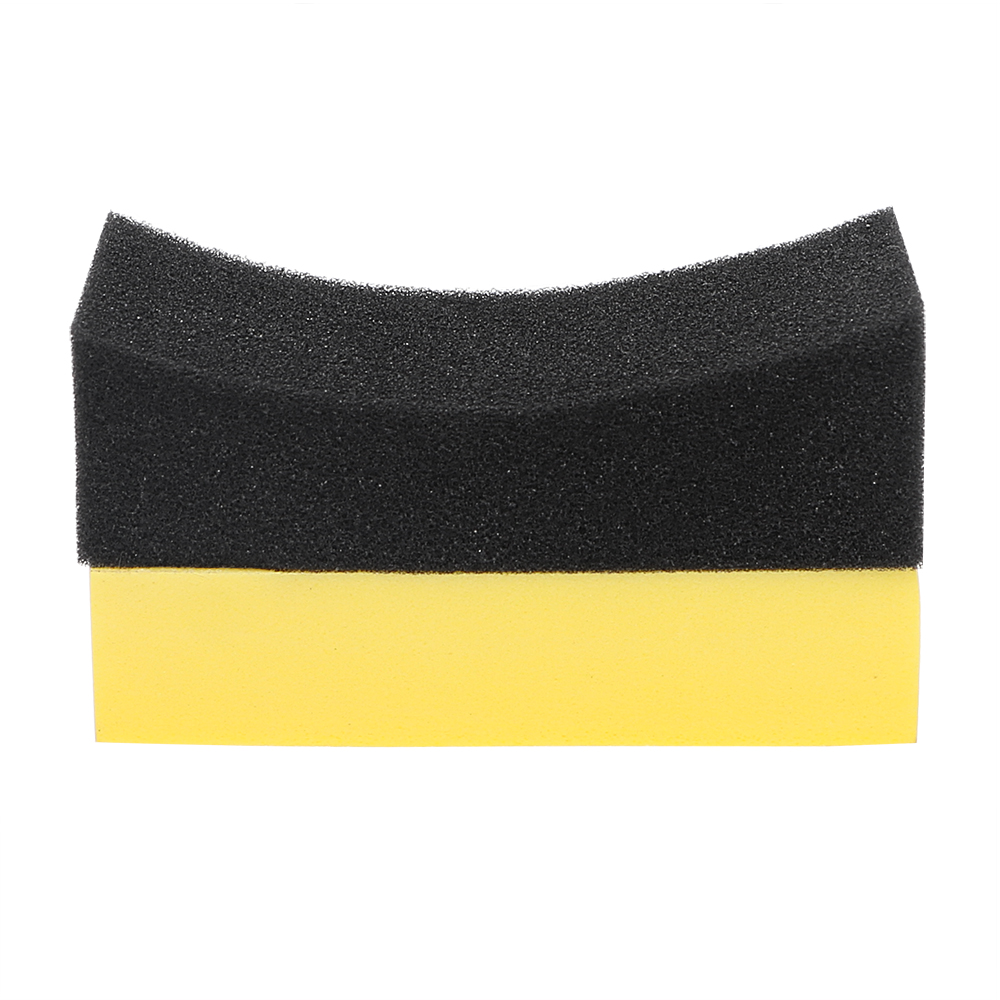 Car Wash Sponge Multi-functional Cleaning Tool U-Shape EVA Household Tyre Tire Brush Wax Foam Polishing Sponge Auto Care
