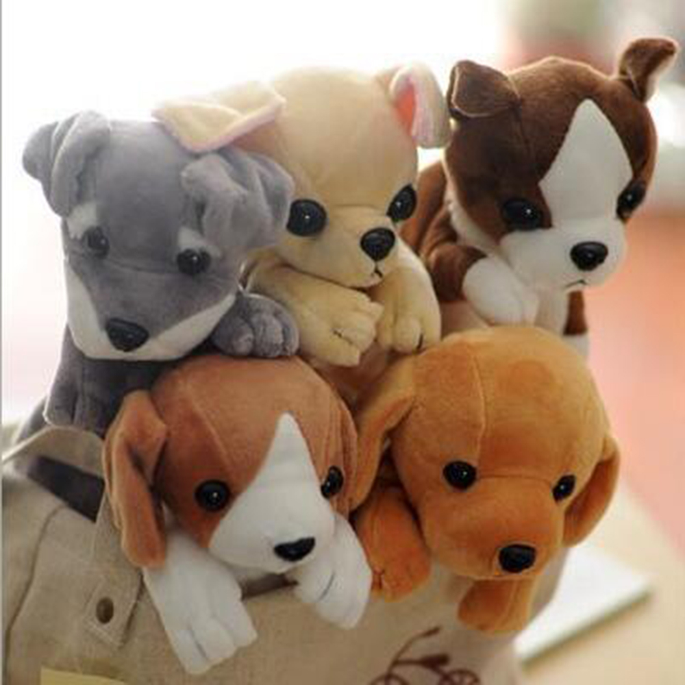 Super Cute Plush Toy Dog High-capacity Pencil Bags Student Children Receiving Bag Daily Girl Cartoon Makeup Bags super cute plush toy dog doll as a christmas gift for children s home decoration 20