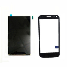 Black Touch Screen For ZTE Blade Q Lux 4G / 3G Front Glass Digitizer Panel Sensor Glass Lens +LCD Display Replacement