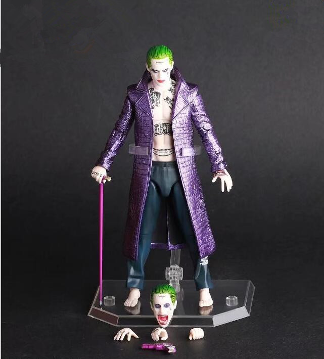 Suicide Squad S.H.Figuarts Action Figure Joker Harley Quinn  PVC Anime Movie Suicide Squad Collectible Model Toy Joker 6inch neca planet of the apes gorilla soldier pvc action figure collectible toy 8 20cm