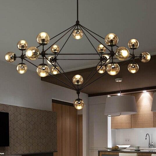 Modern Glass Modo Pendant Light Nordic Dining Room Kitchen Designer Hanging Lamps Avize Lustre Lighting In Lights From On