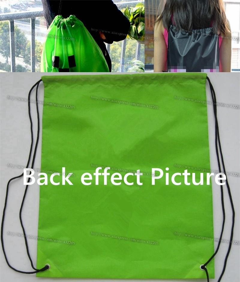 3D Cartoon backpack Gift bag Draw String Backpack Sling Bag School bag For Kids DHL