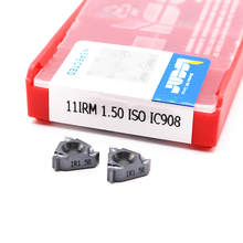 11IR 16IR 1.0 ISO 1.25 1.5 1.75 2.0 2.5 3.0 IC908 Thread turning tools Tungsten Carbide Insert of cnc lathe cutter 11ir 16ir 1 0 iso 1 25 1 5 1 75 2 0 2 5 3 0 ic908 thread turning tools tungsten carbide insert of cnc lathe cutter