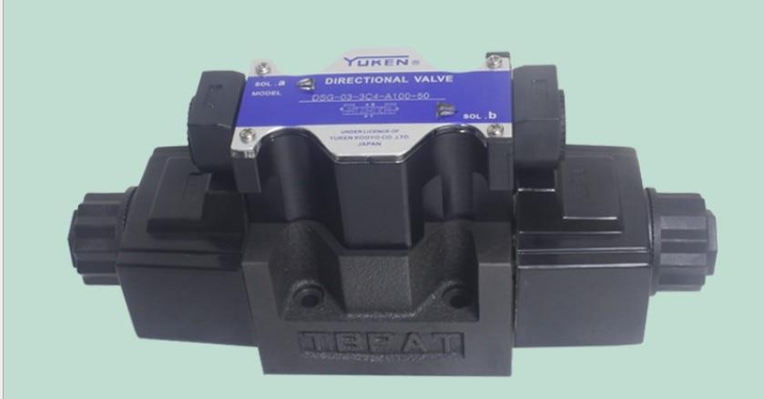 YUKEN hydraulic valve DSG-03-3C12-D24-50 high pressure valve high quality hydraulic valve dsg 01 3c3 a200 n1 50