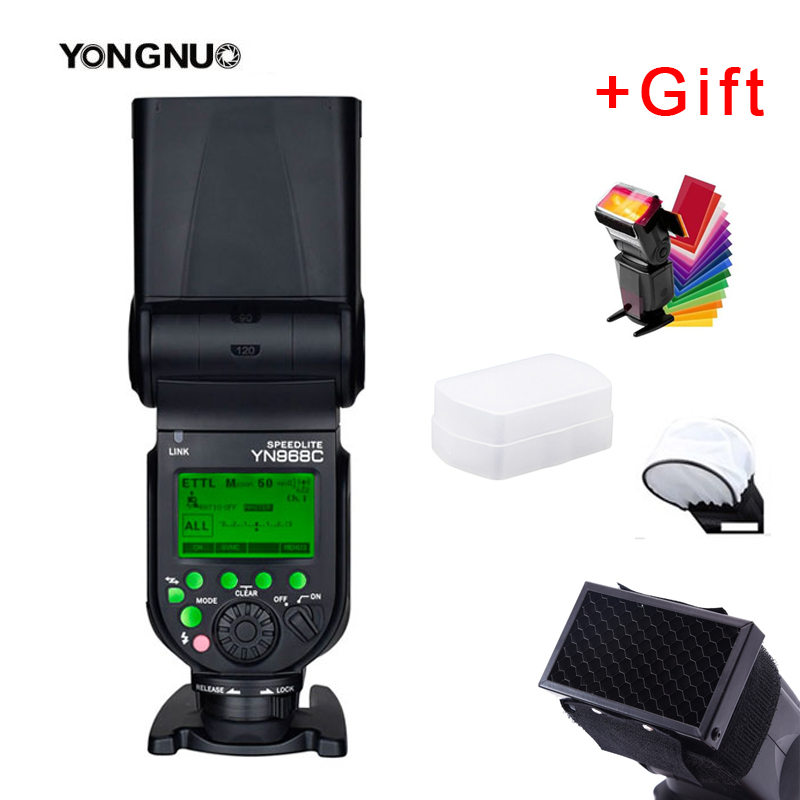YONGNUO YN968C 2 4G Wireless High speed Sync TTL 1 8000s Flash Speedlite Auto zoom for