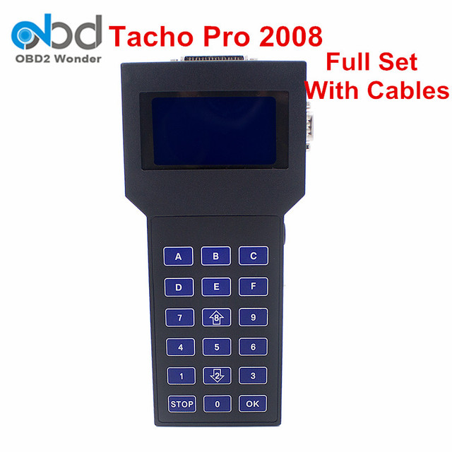 2017 High Quality Tacho Pro Unlocked Odometer Correction Tool Universal Dash Programmer 2008 Mileage