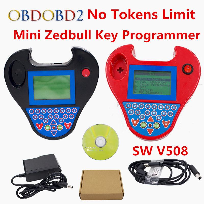 Top Rated Smart Mini Zed Bull Key Programmer Zed-Bull Software V508 Car Key Transponder Mini Zedbull Key Maker No Need Tokens full set sbb mini zed bull key programmer v33 02 sbb v508 smart zedbull auto key pro maker transponder no tokens dhlfree
