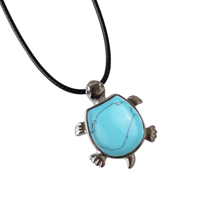 Turtle Pendant Necklace Mawgie