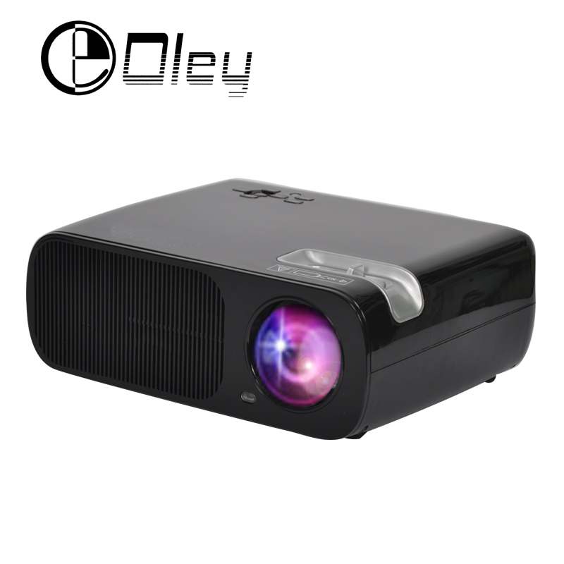 Pro android 4 4 multimedia video projector 3000 lumens for Portable video projector