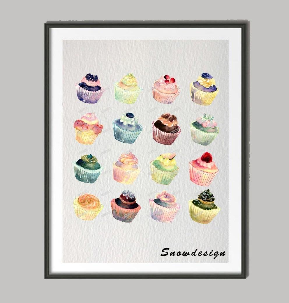 Cupcake Wall Art popular cupcake wall art-buy cheap cupcake wall art lots from