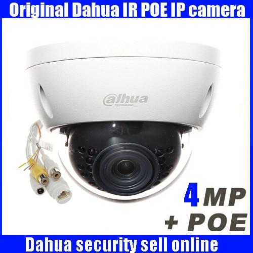 Original Dahua english Firmware 4MP IPC-HDBW4431R-AS IP network camera POE & Micro SD storage dahua dome camera original dahua 4mp ipc hdbw4421r as ip network camera support poe