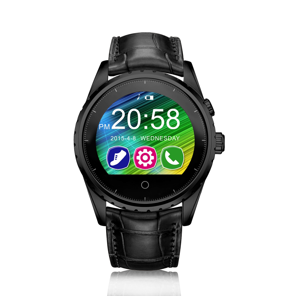 Bluetooth Watch Smartwatch Heart Rate Monitor Pedometer Sync Phone Call SMS Messages for iPhone Samsung LG Sony Moto HTC Nokia wireless service call bell system popular in restaurant ce passed 433 92mhz full equipment watch pager 1 watch 7 call button