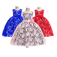 2019 Summer Girls Clothes Ball Gown Tutu Dress Cotton Knee-length Lace Party Dresses For 10 12 New Year Gift Casual