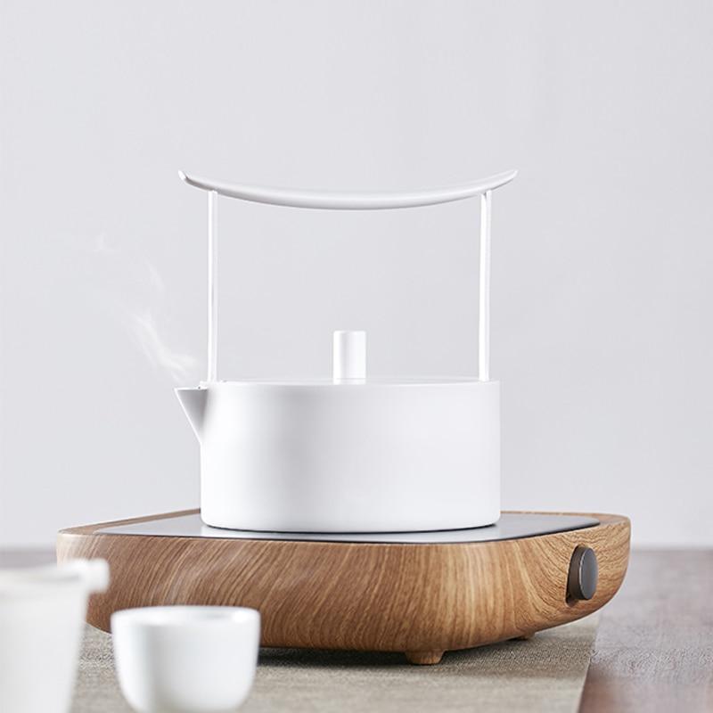 220 V estilo Japonês Bule Xícara de Café Xícara de Chá Caneca de Leite Eletrônico Fogão Chaleira de Chá Quente de Calor Aquecedores Elétricos De Cerâmica Placa quente