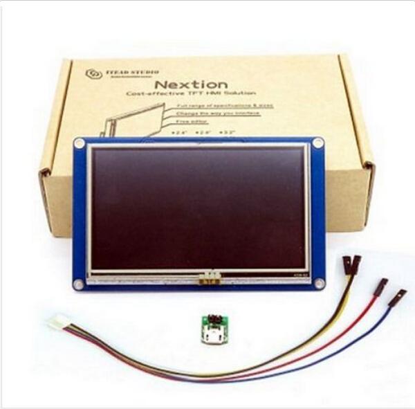 """Prix pour 4.3 """"Nextion HMI Intelligente Smart Série Tactile TFT LCD Module Panneau D'affichage Pour Raspberry Pi 2 A + B + Arduino Kits"""
