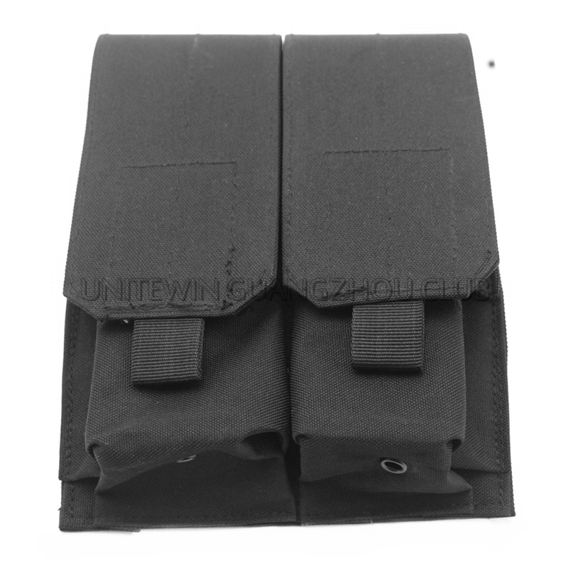Tactical Airsoft Gear AK Magazine Pouch Tactical Military Army CS Combat Magazine Pouch Dual AK 47/74 GUN Magazine Pouch 5 Color