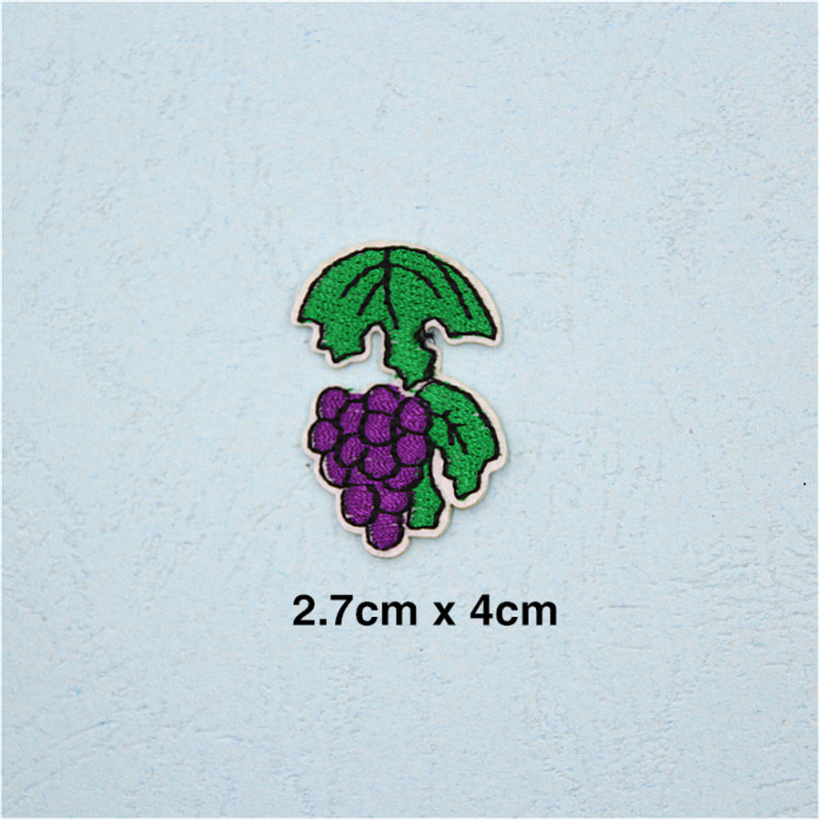 PF Fine Stripe Fruit Patch Pineapple Embroidery Patch for Clothing Applique  Accessories Tops Bag Iron On Patches Stickers TB211 - us234 ba26dc64bb21