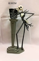 New Jack Skellington Figure Animation The Nightmare Before Christmas 25years Henry Selick Tim Burton Movie Action Figures 30cm