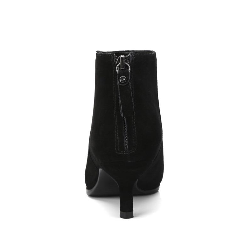 Qualité 2018 Chaussures Bottes black Mode Zip Nude Bottines Parti Enmayer Cy061 Mariage Bout Woamn Sexy Pointu D'hiver De Supérieure Nouvelle Lady 0xwRdqY4