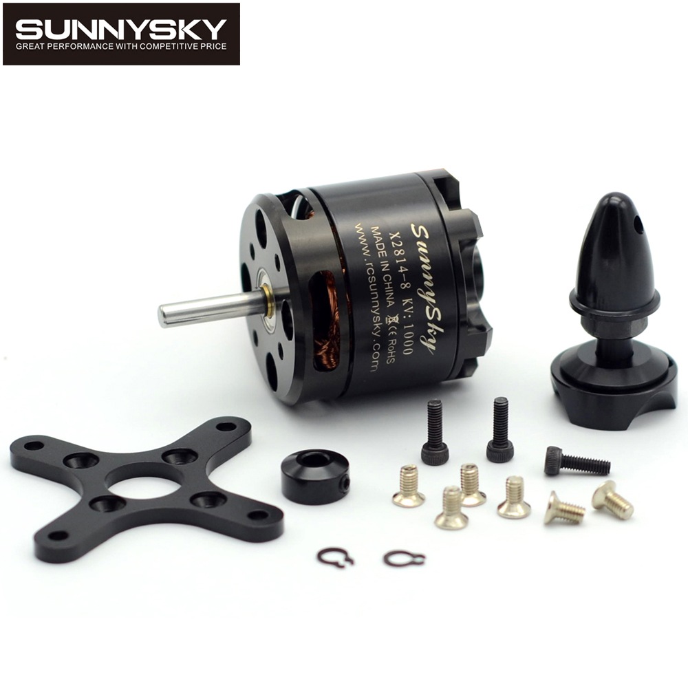 1 unids sunnysky X2814 serie 900KV 1000KV 1100KV 1250KV 1450KV outrunner motor sin escobillas de rotor externo