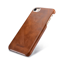 Genuine Leather Back Cover For Apple IPhone 7 8 7 8Plus Case Luxury Slim Vintage Hard