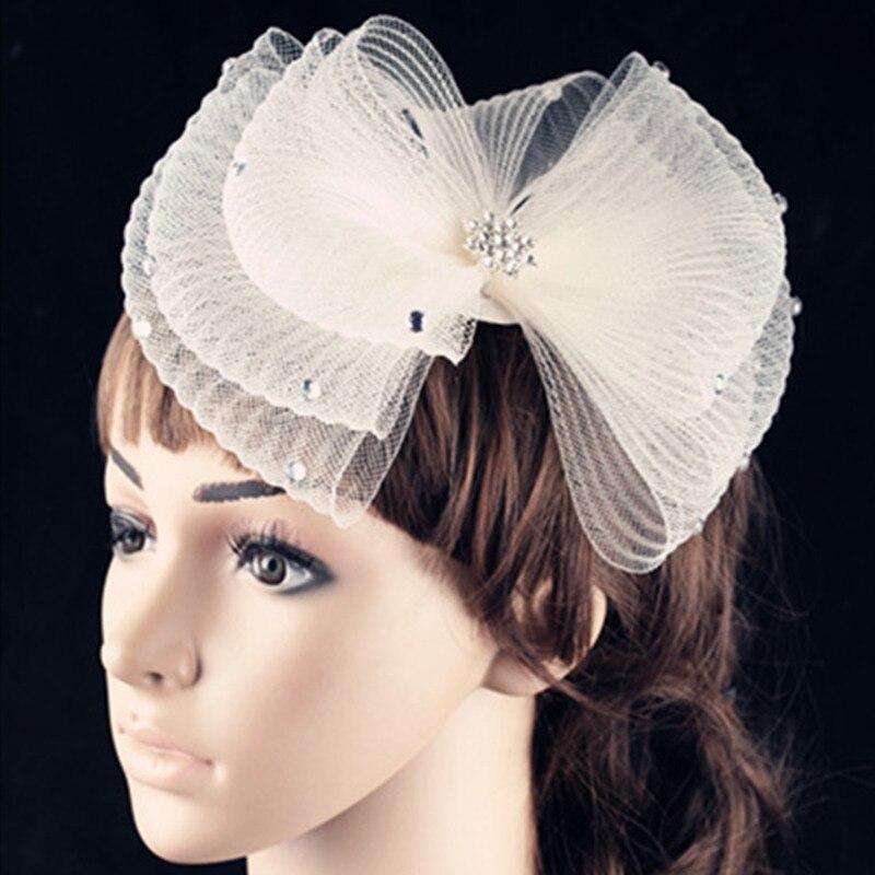 Pillbox Hat With Birdcage Net Fascinator Headband Party