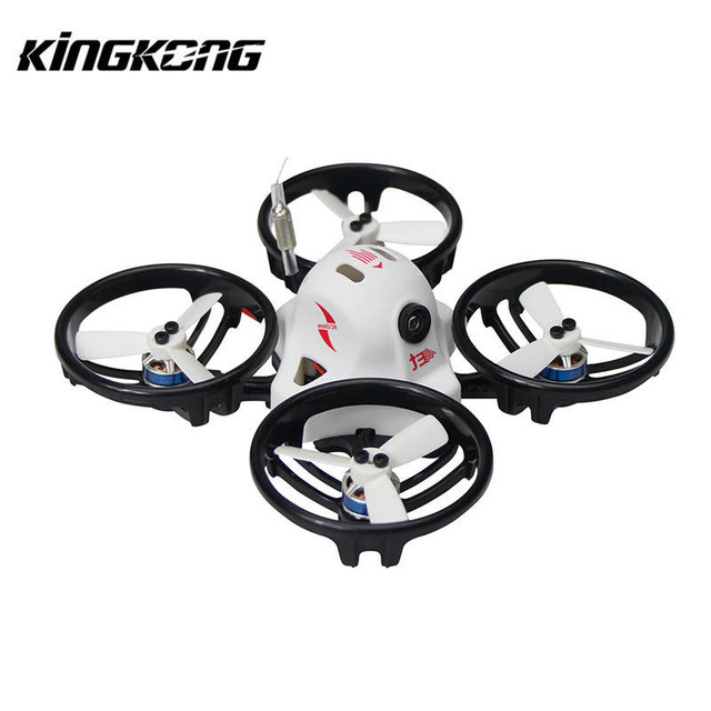 KINGKONG/LDARC ET Series ET100 ET115 ET125 Micro FPV Racing Drone 800TVL Camera 16CH 25mW 100mW VTX BNF ldarc q25g2h5 8g 25mw 16ch fpv vtx 199c combo