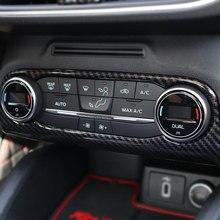 JY ABS углеродное волокно стиль охлаждающий воздух рамка отделка блестки украшение рамка автомобиля Стайлинг Аксессуары для Ford Focus MK4